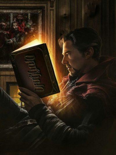 Dr. Stranger fazendo leitura