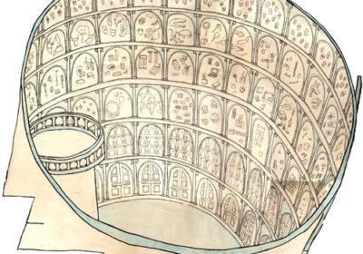 ilustração do palacio das memórias