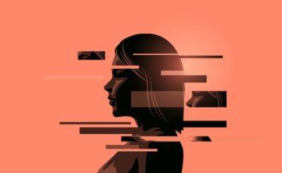 ilustração de mulher em terapia