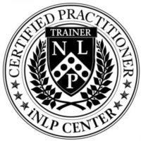 simbolo da certificação de treiner em PNL